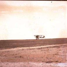 Militaria: FOTOGRAFIA ESTEREOSCOPICA DE CRISTAL NEGATIVO, CONCURSO DE AVIACION CELEBRADO EL 4 DE MAYO DE 1919, . Lote 147773114