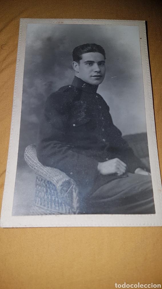 FOTO SOLDADO 18 REGIMIENTO ALFONSINO (Militar - Fotografía Militar - Otros)