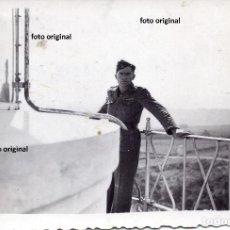 Militaria: FARO CABO MAYOR SANTANDER OCTUBRE 1937 FRENTE NORTE ALFEREZ LEGION CONDOR GUERRA CIVIL. Lote 147974150