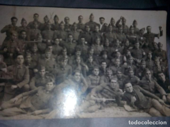 FOTOGRAFIA MILITAR, FOTO EN GRUPO DE MILITARES,FOTOGRAFO CHINCHILLA TARRAGONA (Militar - Fotografía Militar - Otros)