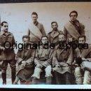 Militaria: (JX-190198)FOTOGRAFÍA DE VOLUNTARIOS INGLESES DE LAS BRIGADAS INTERNACIONALES PRISIONEROS EN ALCAÑIZ. Lote 148331318