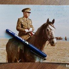 Militaria: MUY BELLA FOTO ORIGINAL EN GRAN FORMATO A COLOR DEDICADA Y FIRMADA EN 1970 POR UN TENIENTE GENERAL.. Lote 148396110