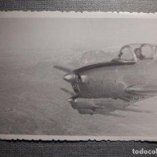 Militaria: FOTOGRAFIA MILITAR - FOTOGRAFÍA EN VUELO DE AVIÓNES MILITARES - 105 X 75 MM. Lote 148543914