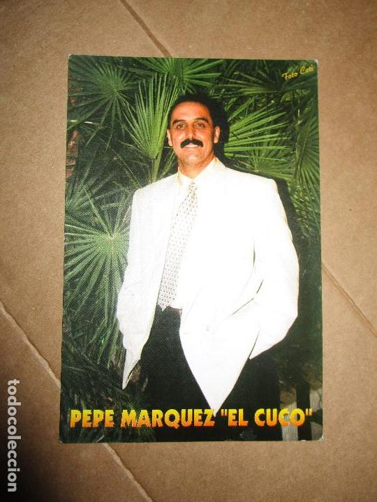 FOTO PEPE MARQUEZ EL CUCO DEDICADA A GENERAL DE LEGION EXCOMBATIENTE GUERRA CIVIL (Militar - Fotografía Militar - Guerra Civil Española)
