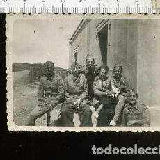 Militaria: FOTOGRAFIA MILITAR SOLDADOS DE ARTILLERIA. Lote 148686558