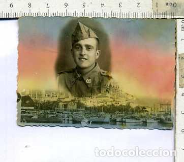 FOTOGRAFÍA MILITAR SOLDADO DE SANIDAD PALMA (Militar - Fotografía Militar - Otros)