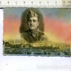Militaria: FOTOGRAFÍA MILITAR SOLDADO DE SANIDAD PALMA . Lote 148689166