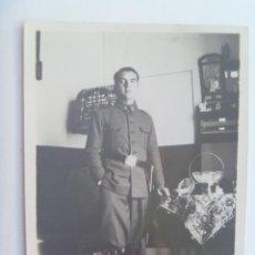 Militaria: GUERRA CIVIL : FOTO DE MILITAR DE ARTILLERIA , 1937. Lote 148781842