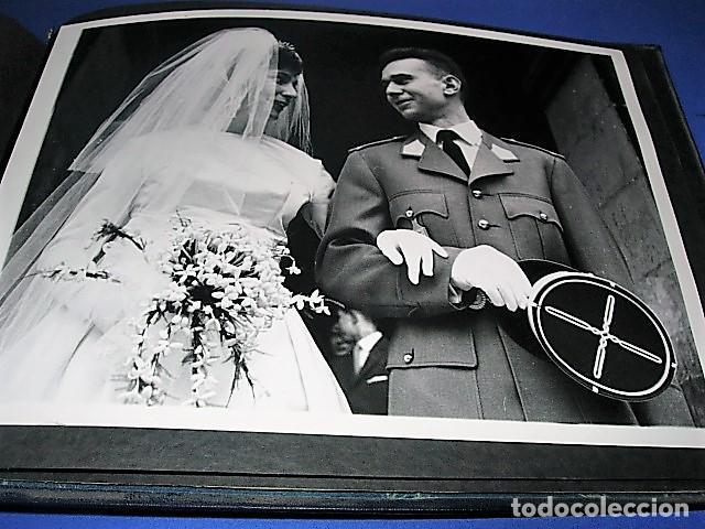 Militaria: Album de fotos de la boda de un militar Frances. Años 50-60 - Foto 2 - 149478578