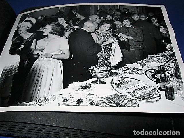 Militaria: Album de fotos de la boda de un militar Frances. Años 50-60 - Foto 3 - 149478578