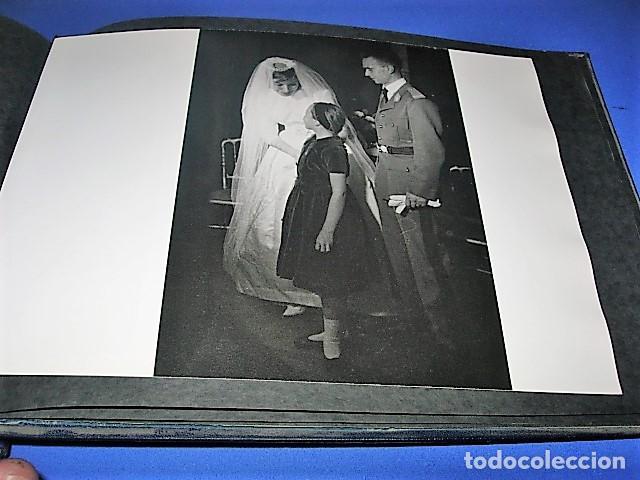 Militaria: Album de fotos de la boda de un militar Frances. Años 50-60 - Foto 6 - 149478578