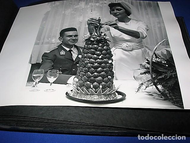 Militaria: Album de fotos de la boda de un militar Frances. Años 50-60 - Foto 9 - 149478578