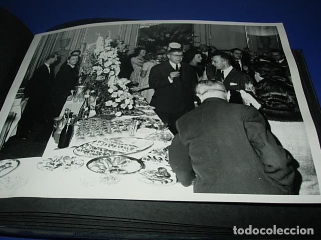 Militaria: Album de fotos de la boda de un militar Frances. Años 50-60 - Foto 11 - 149478578