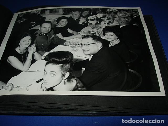 Militaria: Album de fotos de la boda de un militar Frances. Años 50-60 - Foto 7 - 149478578