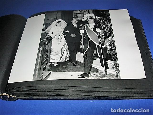 Militaria: Album de fotos de la boda de un militar Frances. Años 50-60 - Foto 20 - 149478578