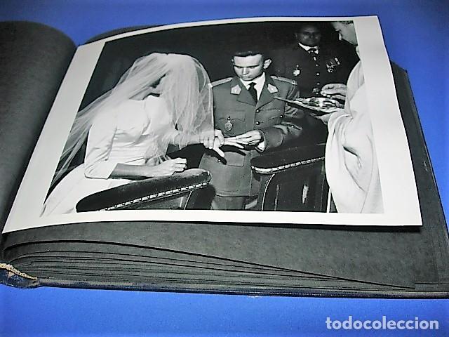 Militaria: Album de fotos de la boda de un militar Frances. Años 50-60 - Foto 24 - 149478578