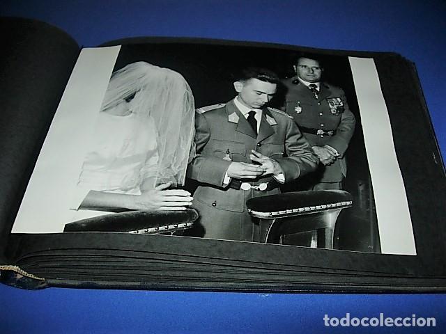 Militaria: Album de fotos de la boda de un militar Frances. Años 50-60 - Foto 25 - 149478578