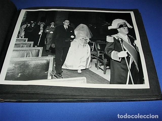 Militaria: Album de fotos de la boda de un militar Frances. Años 50-60 - Foto 26 - 149478578