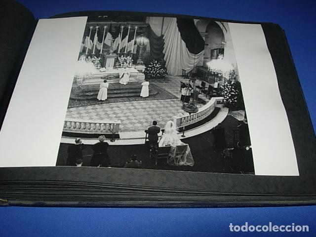 Militaria: Album de fotos de la boda de un militar Frances. Años 50-60 - Foto 30 - 149478578