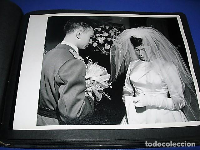 Militaria: Album de fotos de la boda de un militar Frances. Años 50-60 - Foto 31 - 149478578