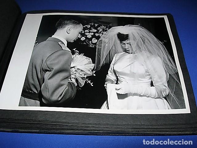 Militaria: Album de fotos de la boda de un militar Frances. Años 50-60 - Foto 33 - 149478578