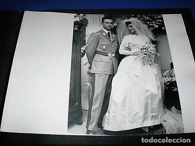 Militaria: Album de fotos de la boda de un militar Frances. Años 50-60 - Foto 37 - 149478578