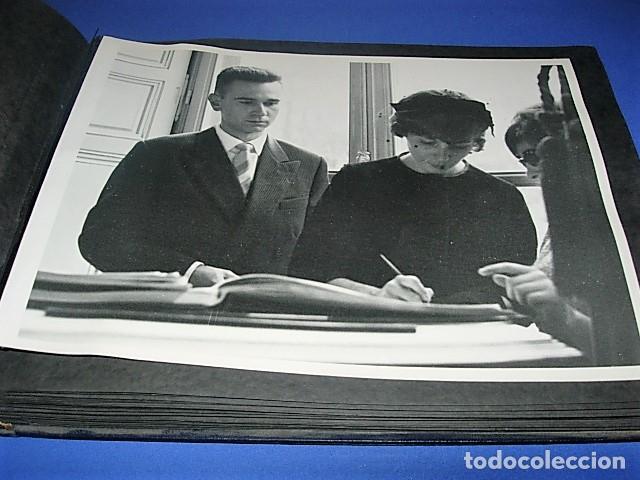 Militaria: Album de fotos de la boda de un militar Frances. Años 50-60 - Foto 38 - 149478578