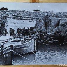 Militaria: FOTOGRAFIA 2ª GUERRA MUNDIAL SOLDADOS CONSTRUYENDO PUENTE 3 DE JUNIO 1941 FOTO ILUSTRUS. Lote 149539954