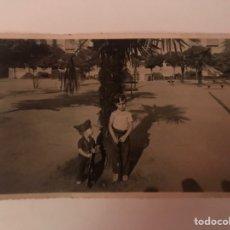 Militaria: MILITAR. MADRID. FOTOGRAFÍA ORIGINAL NIÑOS MILICIANOS... FRENTE DE MADRID (A.1936). Lote 149739236