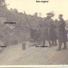 Militaria: ZONA CATALANO-ARAGONESA RUMBO A CATALUÑA LEGION CONDOR AMETRALLADORA GUERRA CIVIL 1938. Lote 149810314
