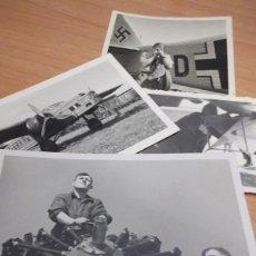 Militaria: LOTE 4 FOTOS LUFTWAFFE. Lote 149882906