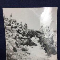 Militaria: ANTIGUA FOTOGRAFÍA FRANCISCO FRANCO ALHUCEMAS LA CEBADILLA DESEMBARCO GUERRA CIVIL ESPAÑA 1923. Lote 192516188
