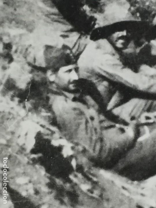Militaria: ANTIGUA FOTOGRAFÍA FRANCISCO FRANCO ALHUCEMAS LA CEBADILLA DESEMBARCO GUERRA CIVIL ESPAÑA 1923 - Foto 3 - 192516188