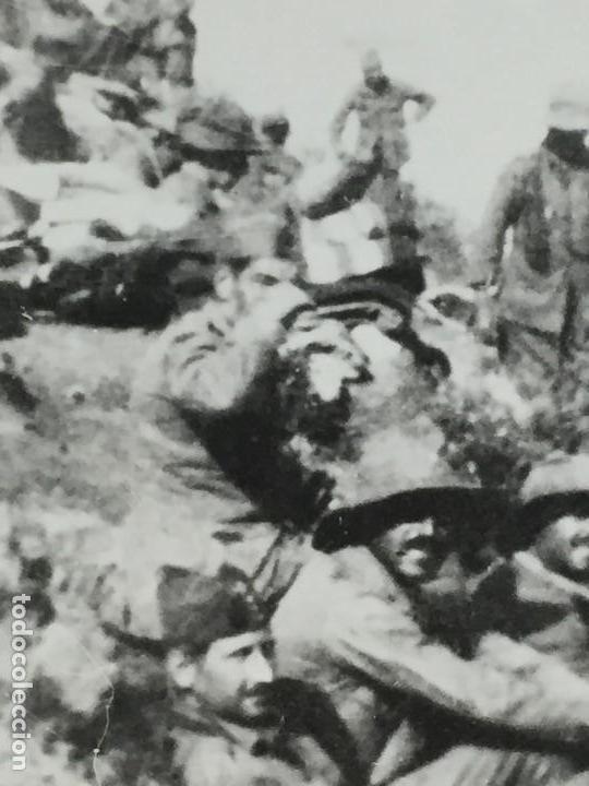Militaria: ANTIGUA FOTOGRAFÍA FRANCISCO FRANCO ALHUCEMAS LA CEBADILLA DESEMBARCO GUERRA CIVIL ESPAÑA 1923 - Foto 4 - 192516188