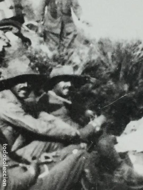 Militaria: ANTIGUA FOTOGRAFÍA FRANCISCO FRANCO ALHUCEMAS LA CEBADILLA DESEMBARCO GUERRA CIVIL ESPAÑA 1923 - Foto 5 - 192516188