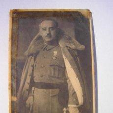 Militaria: ANTIGUA FOTO DE FRANCO CON PLASTIFICADO DE EPOCA.. Lote 150241826