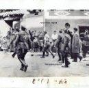 Militaria: GENERAL FRANCO Y DAVILA INSPECCIONANDO FRENTE NORTE TRAS CAIDA SANTANDER GUERRA CIVIL. Lote 150645286