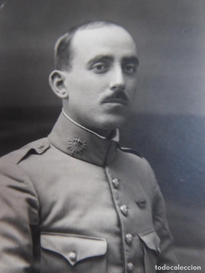 FOTOGRAFÍA TENIENTE CARABINERO. ALFONSO XIII (Militar - Fotografía Militar - Otros)