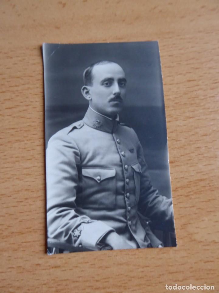 Militaria: Fotografía teniente Carabinero. Alfonso XIII - Foto 2 - 150678670