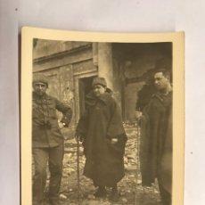Militaria: GUERRA CIVIL. OVIEDO,SANATORIO PEQUEÑO (EN PLENA BATALLA) MARZO DE 1937. Lote 150781106