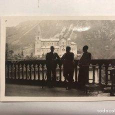 Militaria: GUERRA CIVIL. COVADONGA ASTURIAS.. GRUPO DE MILITARES. FOTOGRAFÍA ORIGINAL (A.1936). Lote 150781790