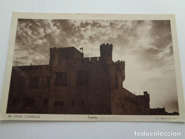 VILLA CISNEROS. SAHARA ESPAÑOL. FUERTE. TARJETA POSTAL 1956 (Militar - Fotografía Militar - Otros)