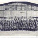 Militaria: PILOTOS Y OFICIALES LEGION CONDOR AERODROMO ESPAÑOL HEINKEL 45 GUERRA CIVIL. Lote 151358574