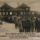 Militaria: 1916 PRISIONEROS DE GUERRA EN CAMPAMENTOS STALLUPONEN 1ª GUERRA MUNDIAL POSTAL. Lote 149311130