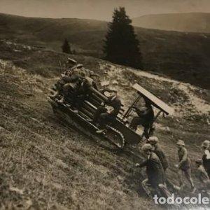 1919. Mont d'arbois. Francia 18x13 cm