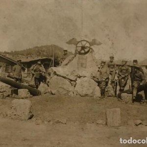 Fotografìa ejército imperial aleman en Taurus 16x11,7 cm