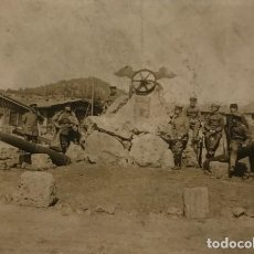 Militaria: FOTOGRAFÌA EJÉRCITO IMPERIAL ALEMAN EN TAURUS 16X11,7 CM. Lote 149322134