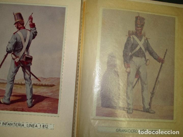 Militaria: ANTIGUO ALBUM FOTOS ORIGINALES DE CUADROS INEDITO EVOLUCION INFANTERIA ESPAÑOLA LEGION MELILLA - Foto 14 - 119495579
