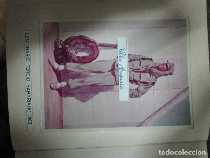 Militaria: ANTIGUO ALBUM FOTOS ORIGINALES DE CUADROS INEDITO EVOLUCION INFANTERIA ESPAÑOLA LEGION MELILLA - Foto 33 - 119495579