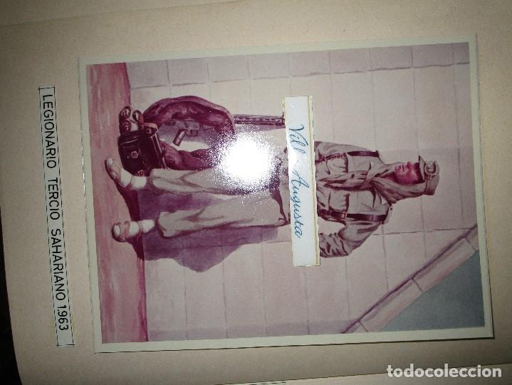 Militaria: ANTIGUO ALBUM FOTOS ORIGINALES DE CUADROS INEDITO EVOLUCION INFANTERIA ESPAÑOLA LEGION MELILLA - Foto 34 - 119495579